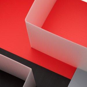 Example of a folded Hi-Core sheet